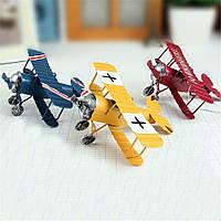 Zakka Plane Toy Classic Коллекция моделей Детская память Антикварные игрушки для олова Домашний декор - 1TopShop