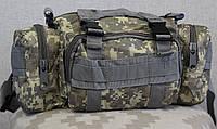 Тактическая универсальная (поясная, наплечная) сумка с системой M.O.L.L.E (104-pixel), фото 1