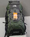 Туристический рюкзак North Face Extreme 60 литров (Оливковый), фото 4