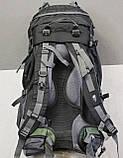 Туристический рюкзак North Face Extreme 60 литров (Оливковый), фото 7
