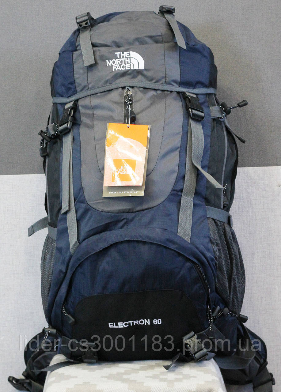 Туристический рюкзак North Face Extreme 60 литров (синий)
