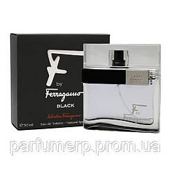 Salvatore Ferragamo F By Ferragamo Black Homme (50мл), Мужская Туалетная вода  - Оригинал!
