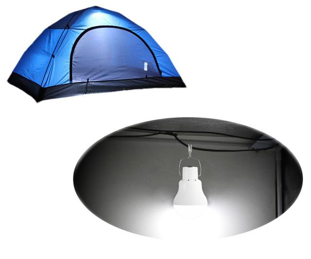 Лампа портативная с солнечной зарядной панелью