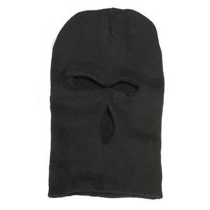 3 отверстия вязаная маска Балаклава Hat лыжный армии Cap шапочка капота - 1TopShop, фото 2