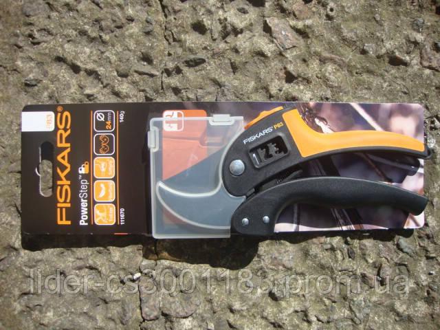 Контактный секатор Fiskars PowerStep (111670)