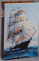 """Книга-шкатулка """"Бригантина"""" (27х18х7), фото 1"""