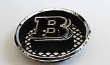 Эмблема решетки радиатора Brabus на Mercedes G-Сlass, фото 3