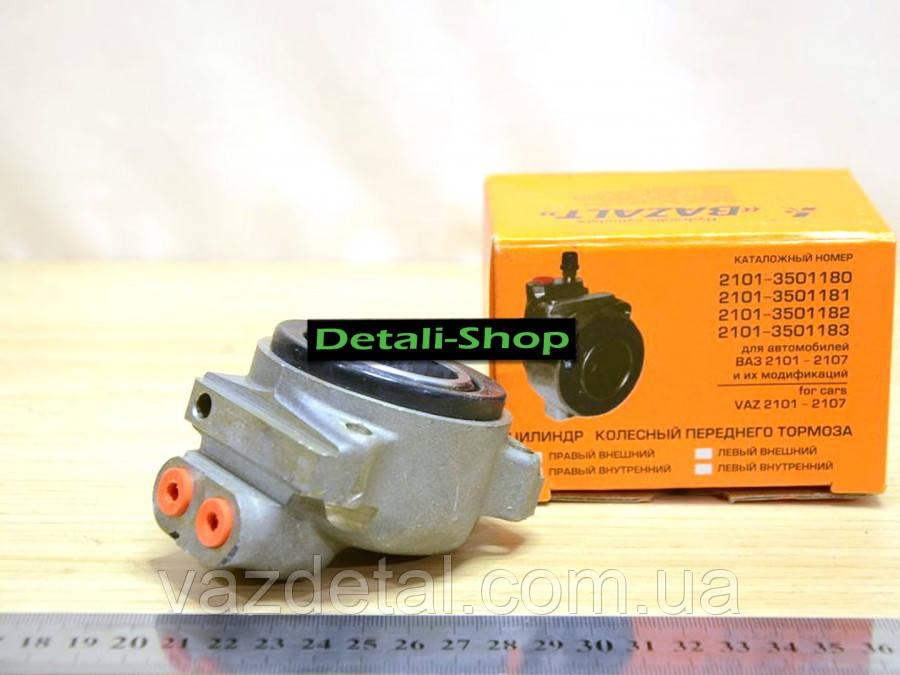 Цилиндр тормозной передний в/п ВАЗ 2101-2107 Базальт