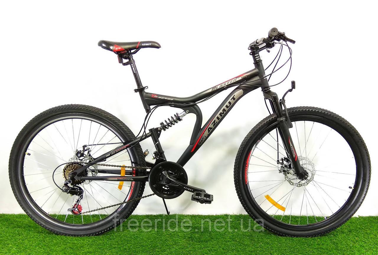 Двухподвесный  Велосипед Azimut Blaster 26 D