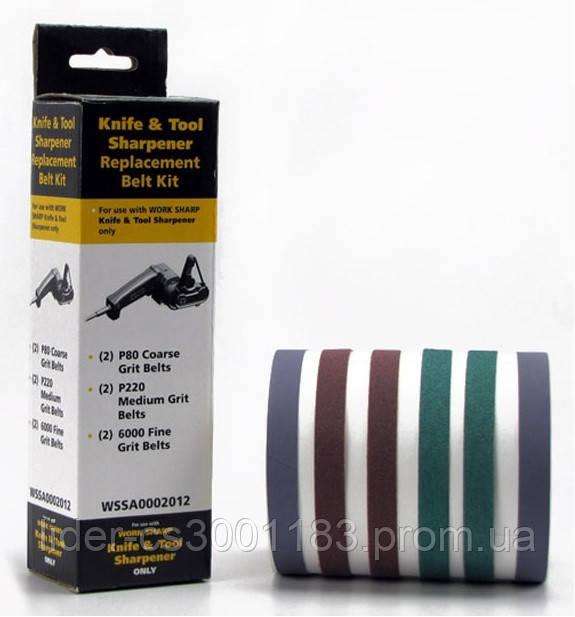 Запасные ленты WSKTS ASSORTED BELT KIT (6 лент) к точилке Darex Work Sharp