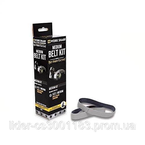 Work Sharp набор сменных ремней (5шт) Belt Kit for X22 Medium, PP0003207