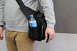 Тактична - міська універсальна сумка Silver Knight з системою M. O. L. L. E Black (863-black), фото 5
