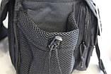 Тактична - міська універсальна сумка Silver Knight з системою M. O. L. L. E Black (863-black), фото 10