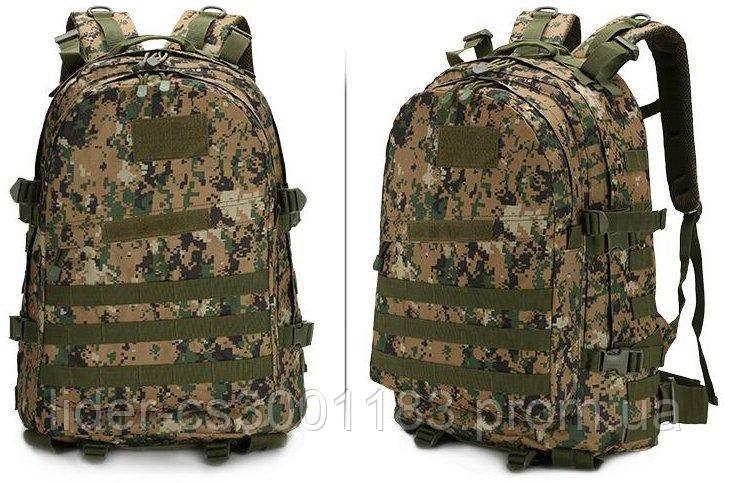 Тактический (военный) рюкзак Raid с системой M.O.L.L.E Тем. Пиксель(601-dark-pixel)