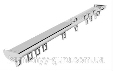 Карниз для штор DS однорядный с комплектацией