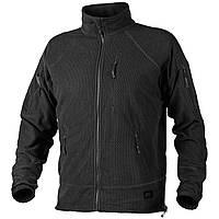 Кофта Helikon Alpha Tactical Grid Fleece Jacket Black (BL-ALT-FG-01)