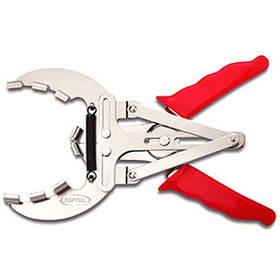 Клещи для снятия и установки поршневых колец 50-100мм, L215мм Toptul JABA0510