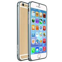 """Металлический бампер COTEetCI для Apple iPhone 6 4.7"""". Карбон."""