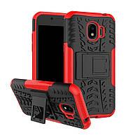Чехол Armor Case для Samsung Galaxy J2 2018 J250 Красный, фото 1