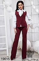 Стильный костюм тройка - 19615