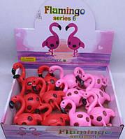 """Игрушка-антистресс лизун 1230-1 """"Фламинго"""" с орбизами 3цвета уп12"""