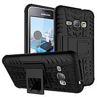 Чехол Armor Case для Samsung Galaxy J1 2016 (J120) Черный, фото 1