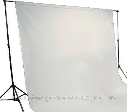 Студийный бумажный фон The BD Company 1,35х11 м (серый) 153 PHOTO GRAY
