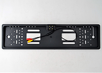 Камера заднего вида в рамке номерного знака с подсветкой 5033