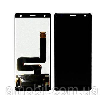 Дисплей + Сенсор  Sony Xperia XZ2 (H8216, H8266, H8276, H8296) black orig
