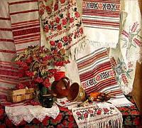 Заготовки для вышивания (рушники, салфетки, скатерти)