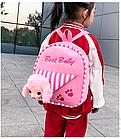 Рюкзак детский с мордочкой медведя или собачки, фото 7