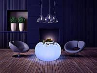 LED  стол Noblest Art  c дистанционным управлением 70*70*44 см (LY308081)
