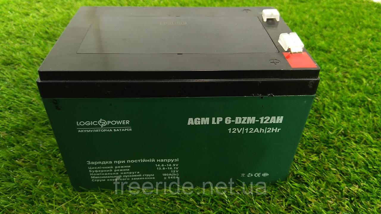 Свинцово-кислотный аккумулятор Logic Power на 12v/12Ah (1шт)