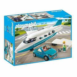 Playmobil 9504 Реактивний пасажирський літак  (Конструктор Плеймобил  Реактивный пассажирский самолет)