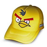 Бейсболка Angry Birds Злая птичка, желтая кепка блайзер