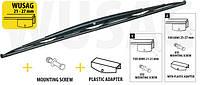 Щетка стеклоочистеля (дворник) для грузовиков и автобусов 1000 mm Код:248732155