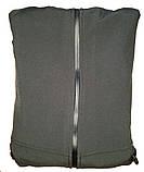Тактична куртка з капюшоном софтшелл softshell Black, фото 2