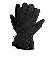 Зимние флисовые перчатки 3М Thinsulate 40 gram (Тинсулейт) Черный