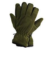 Зимние флисовые перчатки 3М Thinsulate 40 gram (Тинсулейт) Олива