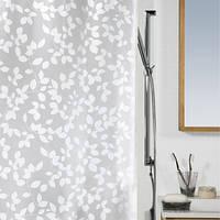 Spirella Шторка для ванной виниловая Spirella BLATT белый (10.08183)