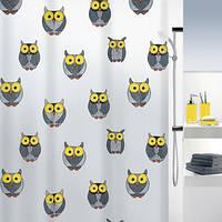 Spirella Шторка для ванной виниловая Spirella OWL серый (10.16132)