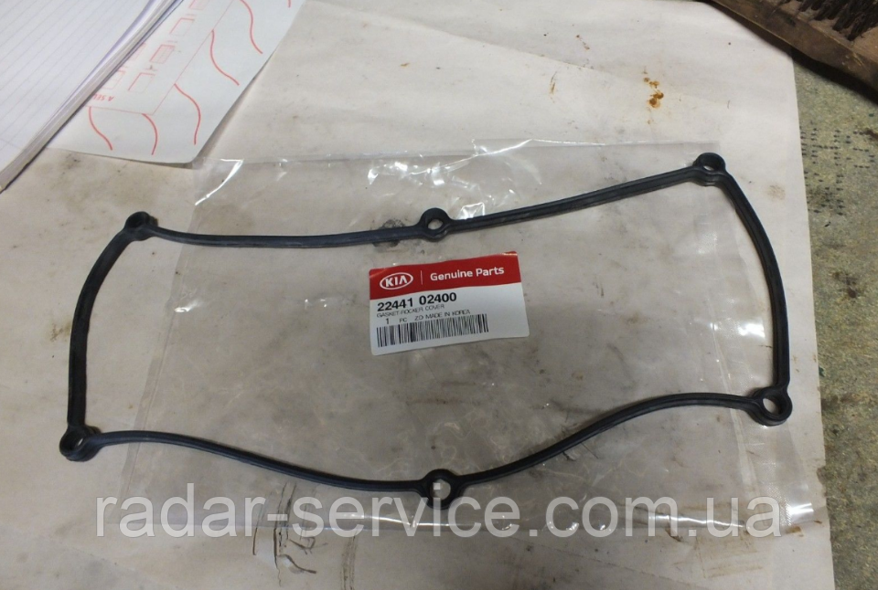 Прокладка клапанной крышки, KIA Picanto 2006-10 SA, 2244102400