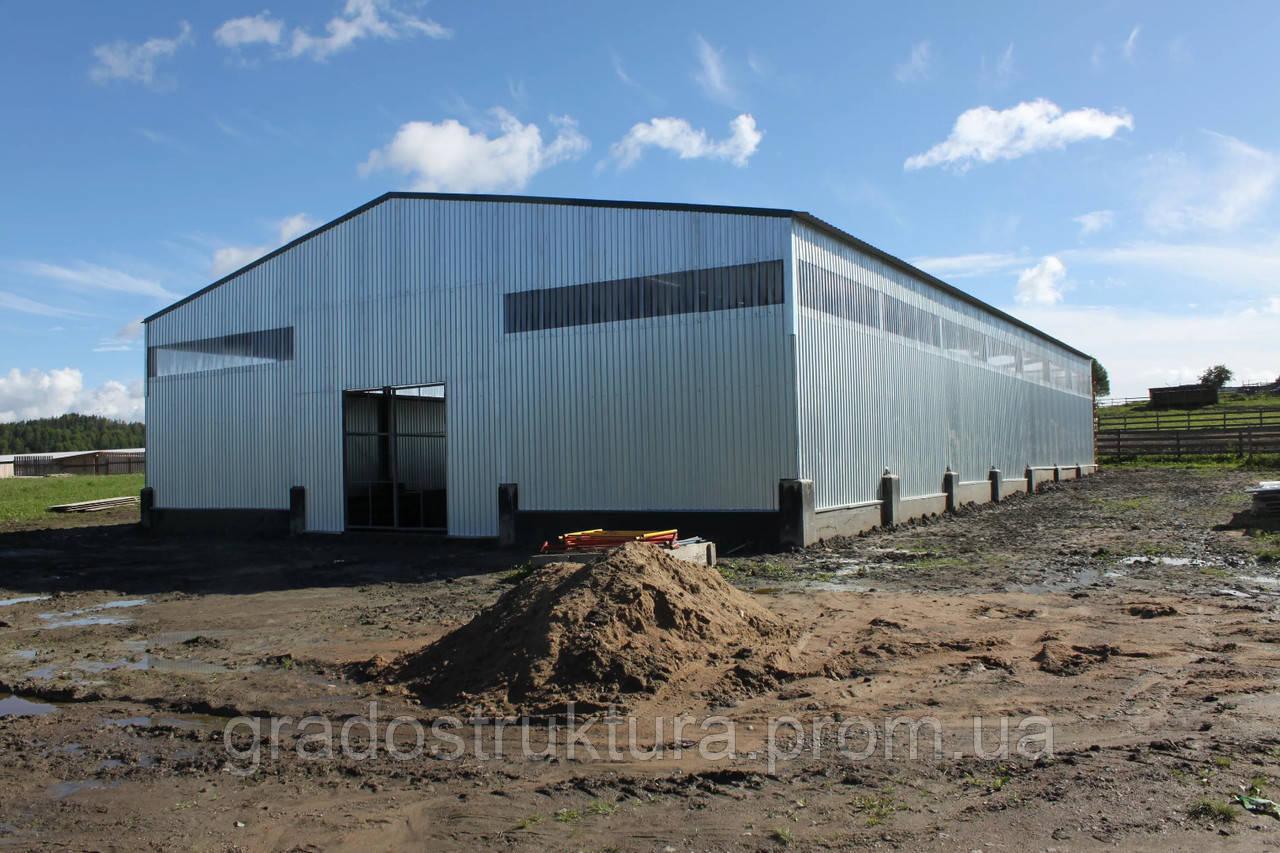 Сельскохозяйственные сооружения - Строительство в Днепре и области - Ангары, Склады, Металлоконструкции