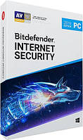 Bitdefender Internet Security 1 ПК 12 месяцев