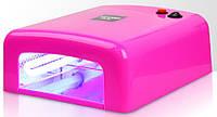 УФ-лампа сушка для ногтей (розовая) , сушка для лака профессиональная