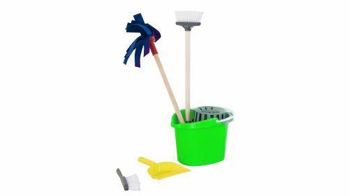 """Игровой набор для уборки """"Чистюля"""" (салатовый) 416"""