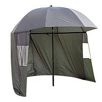Зонт палатка для рыбалки 2 окна тент d2.2м SF23774