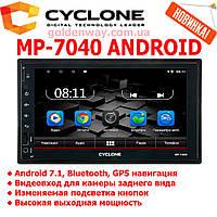 Автомагнитола 2 DIN CYCLONE MP-7040 AND на Android с WiFi, GPS навигацией и Bluetooth