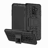 Чехол Armor Case для Samsung A605 Galaxy A6 Plus 2018 Черный
