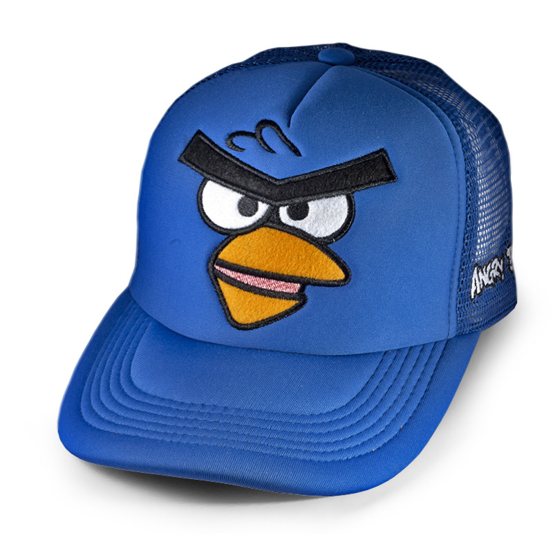 Бейсболка Angry Birds Злая птичка, синяя кепка блайзер